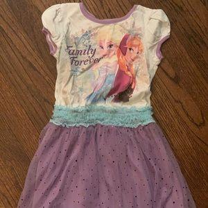 Disney girls size 7/8 dress